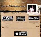 Thumbnail image of Mick McConnell's website